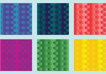 Free Fish Scales Vector Pattern 1 - vector gratuit #372169