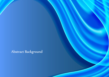 Free Vector Blue Wave Background - бесплатный vector #372439