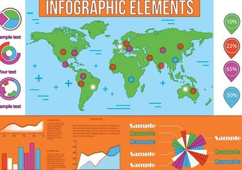 Free Infographic Vector Elements - vector #372459 gratis