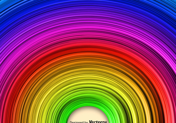 Abstract Rainbow Vector Background - Kostenloses vector #372649