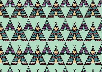 Free Vector Tipi Pattern - Free vector #372679