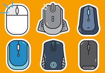 Free Mouse Click Vector 1 - Free vector #372879