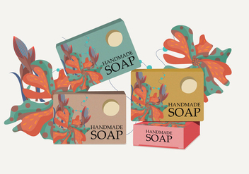 Soap Box Vector - vector #372919 gratis