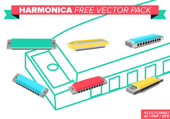 Harmonica Free Vector Pack - Free vector #372979