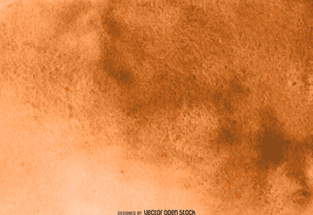 Orange watercolor texture - vector gratuit #373079