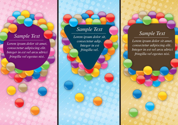 Smarties Flyers - vector gratuit #373239