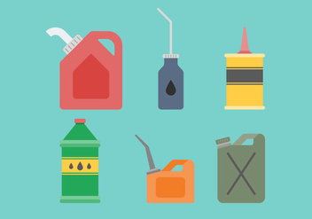 Free Oil Vector 3 - Free vector #373279