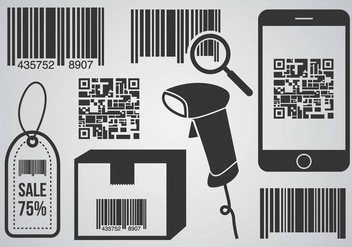 Free Barcode Scanner Vector - Free vector #373319