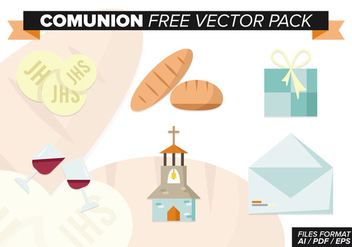 Communion Free Vector Pack - vector #373349 gratis