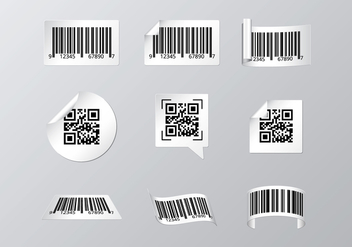 Free Barcode Scanner Label - бесплатный vector #373359