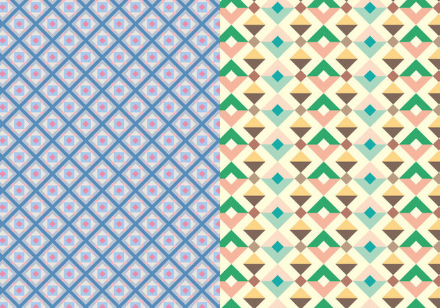 Abstract Decorative Pattern - Free vector #373419