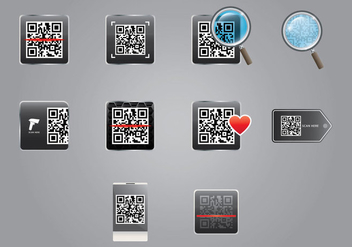Barcode Scanner Icon - vector #373729 gratis