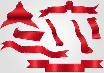 Red Ribbon Cutting - vector #373759 gratis