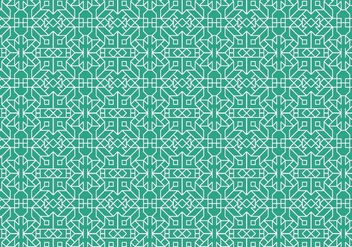 Outline Geometric Pattern - vector #373859 gratis