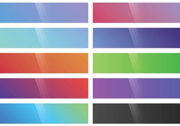 Webkit Linear Gradient Top set - Free vector #373879