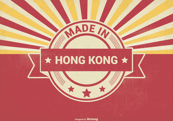 Made in Hong Kong Illustration - бесплатный vector #373899