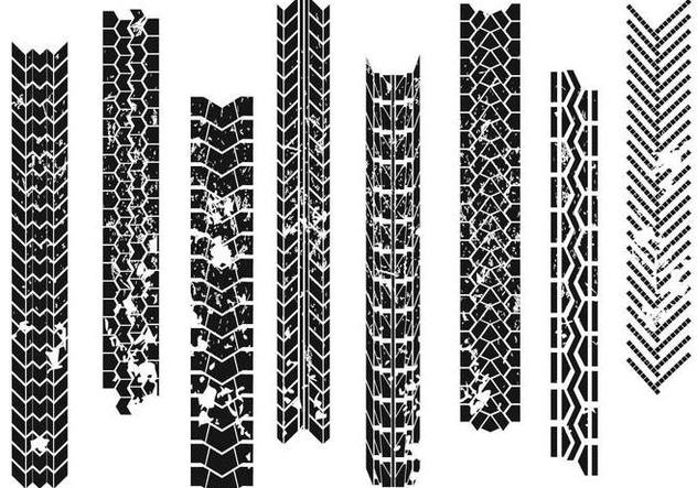 Tractor Tire Marks - Free vector #373949