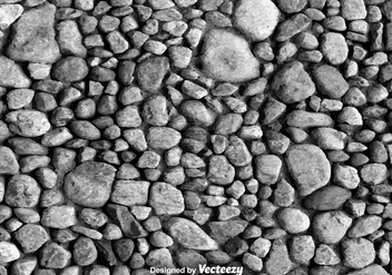 Gray Stone Vector Background - vector gratuit #374309