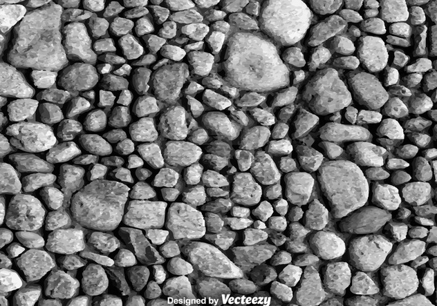 Gray Stone Vector Background - Free vector #374309
