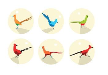 Roadrunner Icons Vector - Free vector #374369