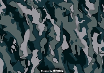 Multicam Vector Camouflage Background - vector gratuit #374659