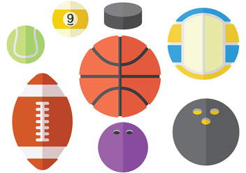 Free Sports Icons Vector - vector gratuit #374789