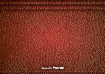 Vector Red Leather Texture - бесплатный vector #374899