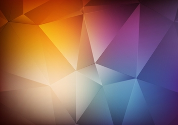Free Vector Polygon Degraded Background - Kostenloses vector #375229