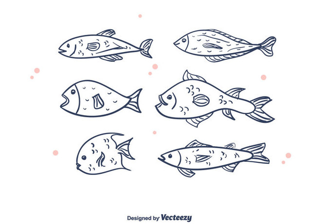 Free Fishes Vector - vector gratuit #375349