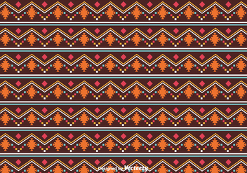 Native American Pattern Vector - бесплатный vector #375369