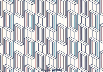 Geometric Vector Pattern - Kostenloses vector #375409