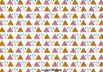 Triangular Pattern Vector - vector #375429 gratis