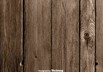 Vector Realistic Hardwood Background - Kostenloses vector #375629