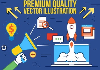 Free Digital Media Vector Illustration - vector gratuit #375789