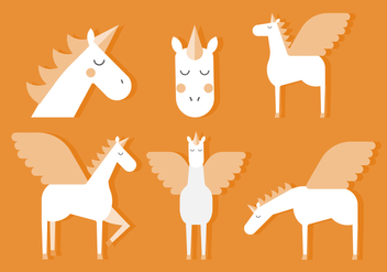 Vector Unicorn - Free vector #375799