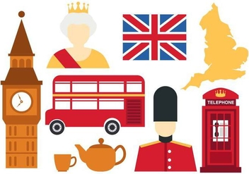 Free England Icons Vector - Free vector #376079