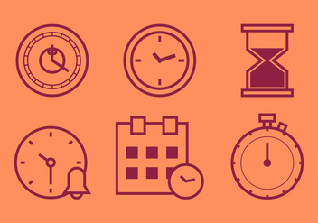 Free Time Vector 3 - Kostenloses vector #376109