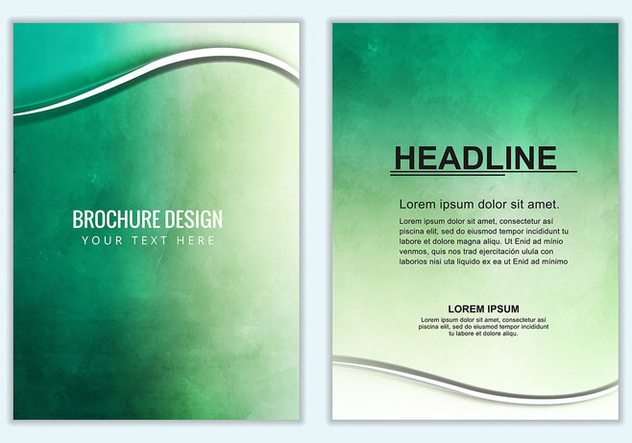 Free Vector Business Brochure - Kostenloses vector #376229