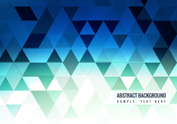 Free Vector Blue Polygon Background - Free vector #376509