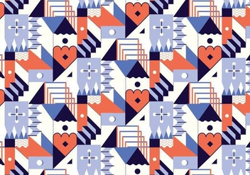 Abstract Geometric Pattern - vector #377269 gratis