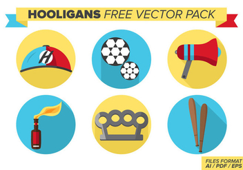 Hooligans Free Vector Pack - бесплатный vector #377309