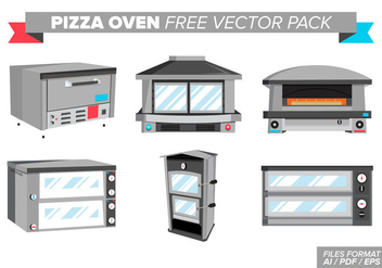 Pizza Oven Free Vector Pack - Kostenloses vector #377319