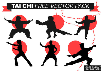 Tai Chi Free Vector Pack - бесплатный vector #377359