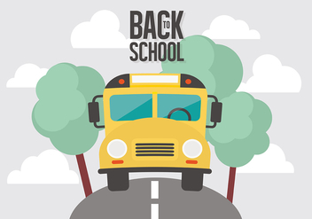 Free Back To School Vector Background - бесплатный vector #377469