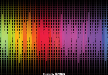 Abstract Background With Rainbow Colors - vector gratuit #377549