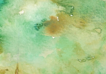 Green Watercolor Free Vector Texture - Free vector #377629