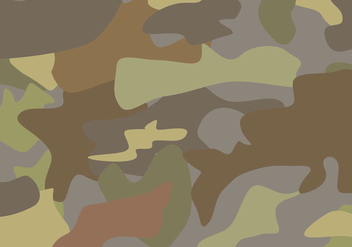 Free Brown Camouflage Vector - бесплатный vector #377649