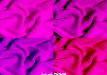 Pink And Purple Cloth Texture Vector Background - vector gratuit #378139