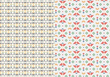 Motif Stitch Pattern - Free vector #378199