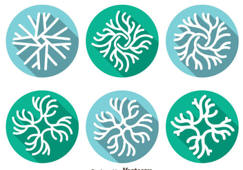 Neuron Icons Vector - Free vector #378619